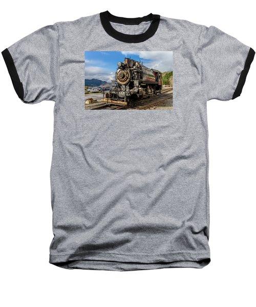 Elbe Steam Engine 17 - 2 Baseball T-Shirt