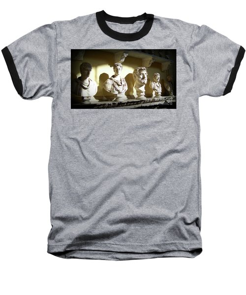Elder Statesmen Baseball T-Shirt by Susan Lafleur