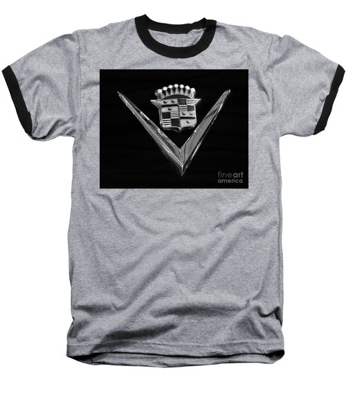 Baseball T-Shirt featuring the photograph Eldorado V Monotone by Dennis Hedberg