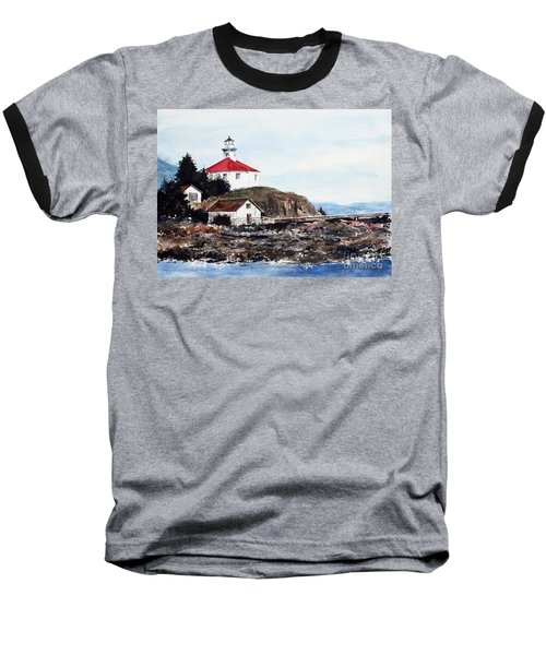 Eldred Rock Lighthouse Baseball T-Shirt