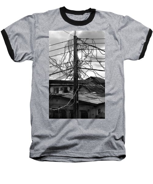 Up Nepa Electricity Pole Baseball T-Shirt