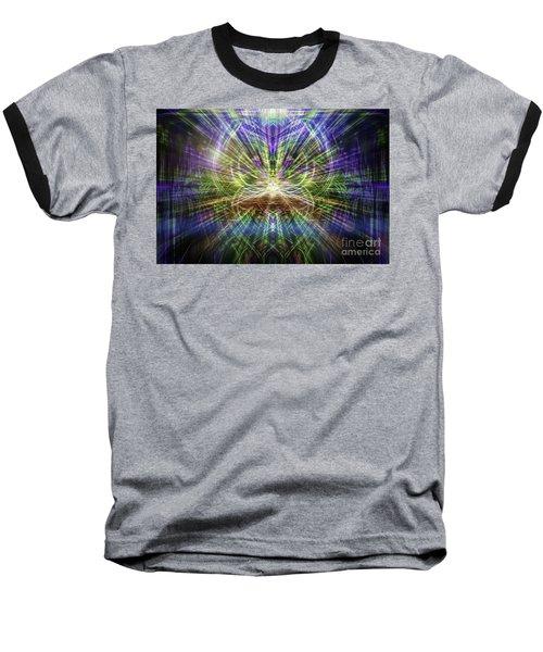 Electric Owl  Baseball T-Shirt