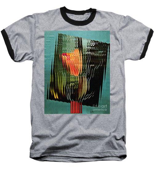 Electric Tulip 2 Baseball T-Shirt by Sarah Loft