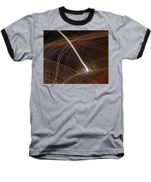 Electric Universe Baseball T-Shirt