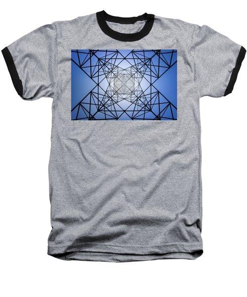 Electrical Symmetry Baseball T-Shirt
