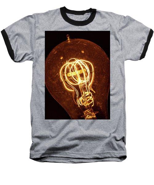 Electricity Through Tungsten Baseball T-Shirt