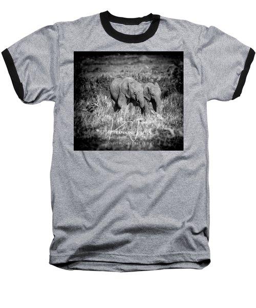 Elefriends Baseball T-Shirt