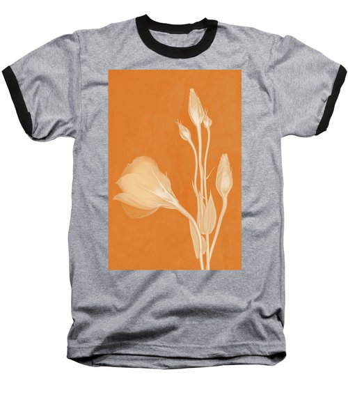 Elegance In Apricot Baseball T-Shirt