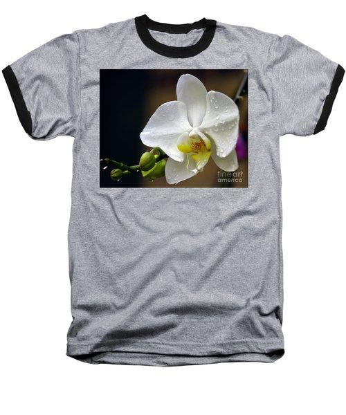 Elegance In White Baseball T-Shirt