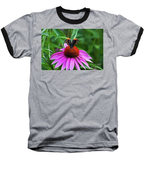 Elegant Butterfly Baseball T-Shirt