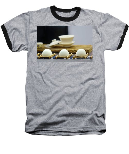 Elegant Chinese Tea Set Baseball T-Shirt