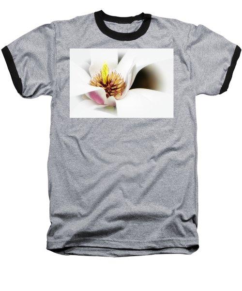 Elegant Magnolia Baseball T-Shirt