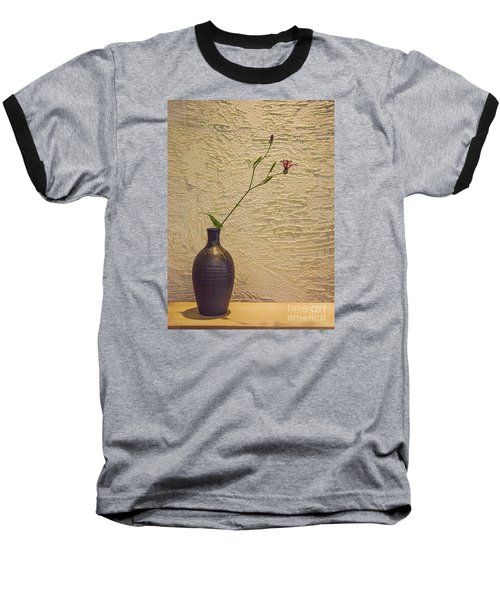 Elegant Still Life Baseball T-Shirt by Shirley Mangini