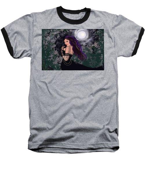 Elegant Vampire Baseball T-Shirt