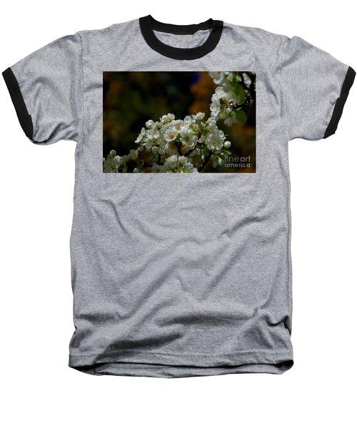 Baseball T-Shirt featuring the photograph Elegantly White by Vicki Pelham
