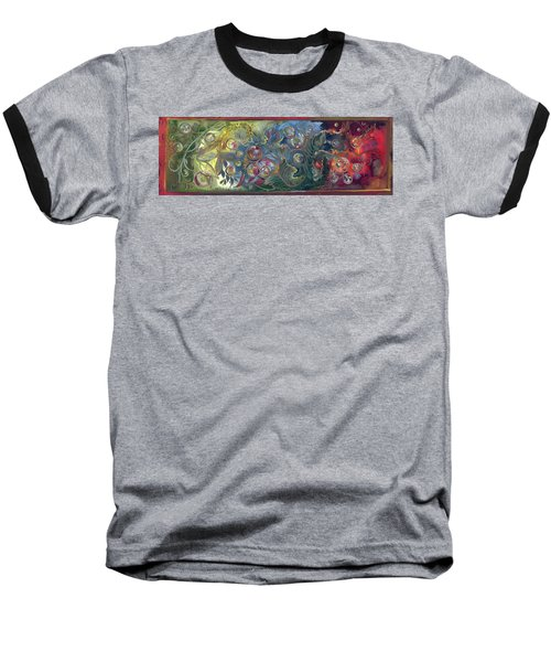 Elemental Bubbles Baseball T-Shirt