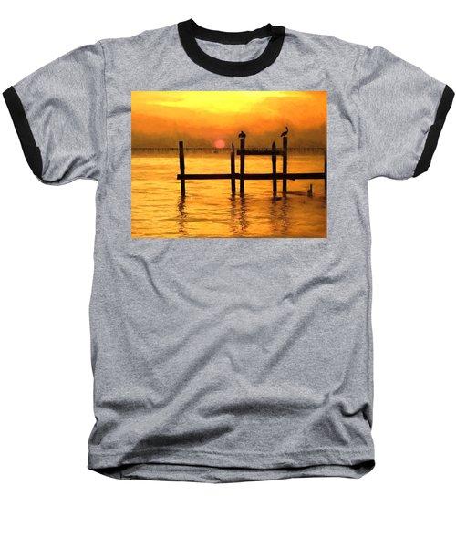 Elements Baseball T-Shirt by Kathy Bassett