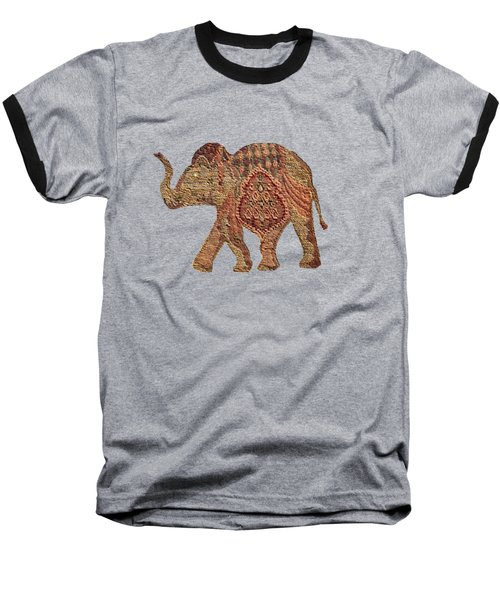 Elephant Baby Baseball T-Shirt