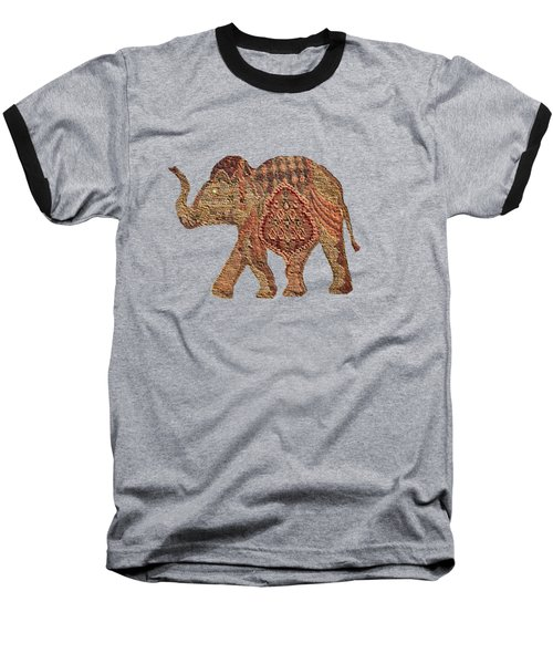 Elephant Baby Baseball T-Shirt