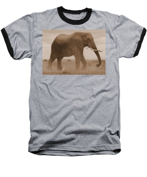 Elephant Dust Baseball T-Shirt
