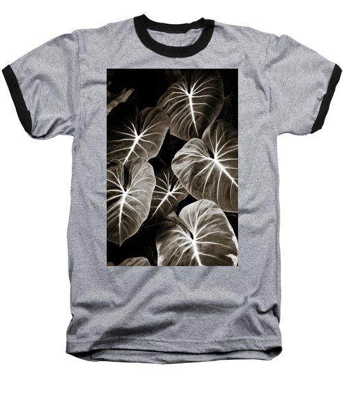 Elephant Ears On Parade Baseball T-Shirt by Marilyn Hunt