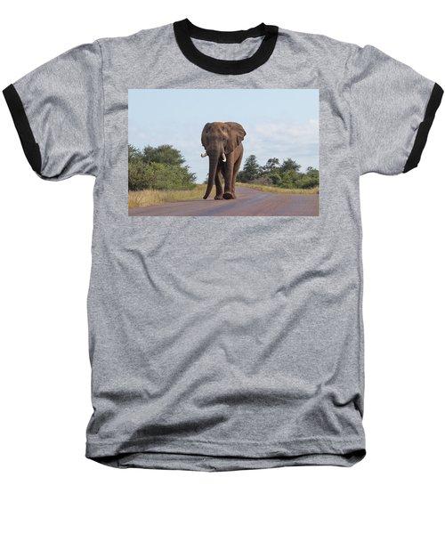 Elephant In Kruger Baseball T-Shirt