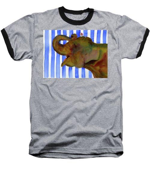 Elephant Joy Baseball T-Shirt