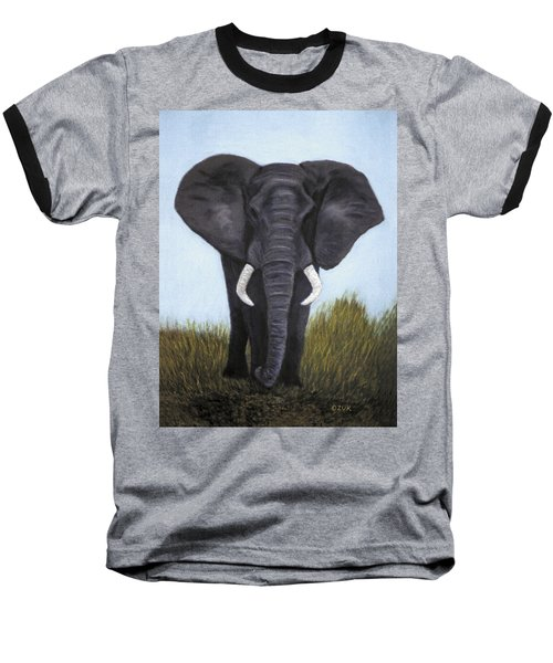 Elephant Baseball T-Shirt