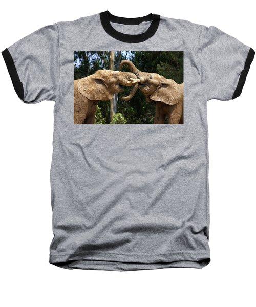 Elephant Play Baseball T-Shirt