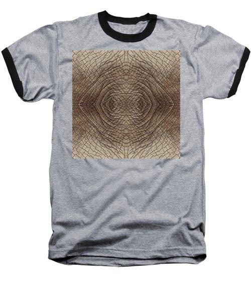 Elephant Skin Baseball T-Shirt by Anton Kalinichev