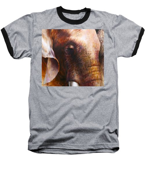 Elephant Empathy Baseball T-Shirt