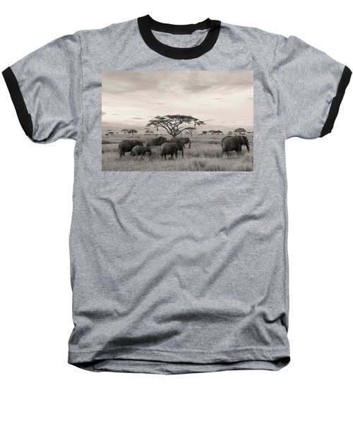 Elephants Baseball T-Shirt