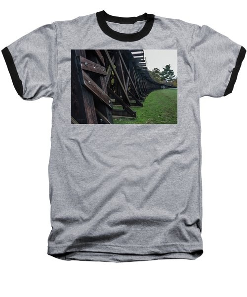 Harpers Ferry Elevated Railroad Baseball T-Shirt