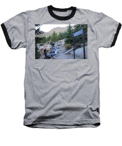 Elevation 11,500 Baseball T-Shirt