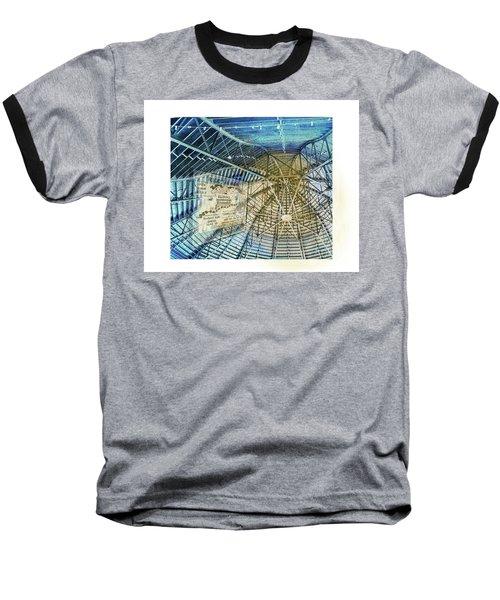 Elitch Pavilion Redo Baseball T-Shirt by Deborah Nakano