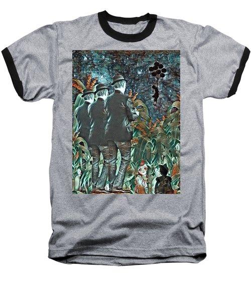 Elite Hide And Seek Baseball T-Shirt by Vennie Kocsis