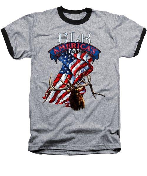 Elk America's Legend V2 Baseball T-Shirt
