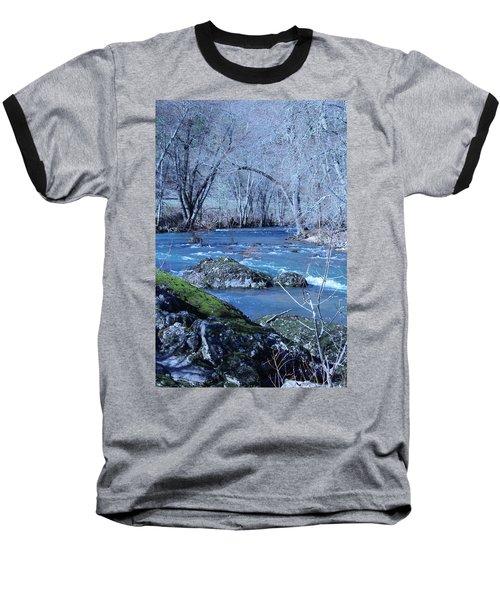Baseball T-Shirt featuring the photograph Elk Creek Wonderland by Marie Neder