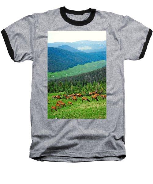 Elk Highlands Baseball T-Shirt