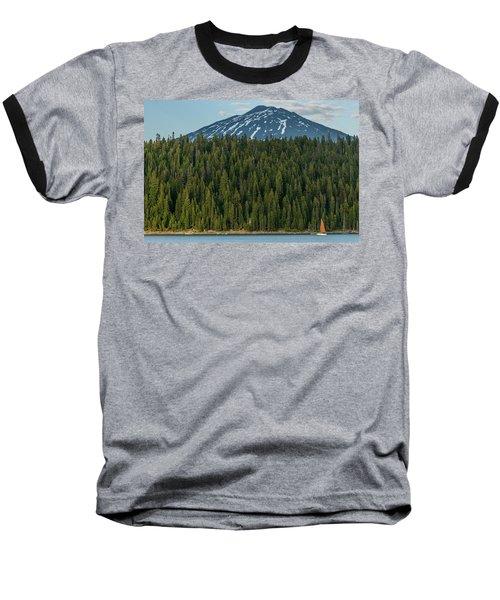 Elk Lake Sailing  Baseball T-Shirt