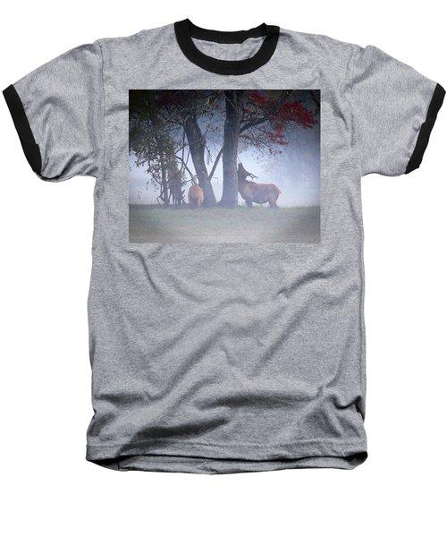 Elk Neck Scratch Baseball T-Shirt by Lamarre Labadie