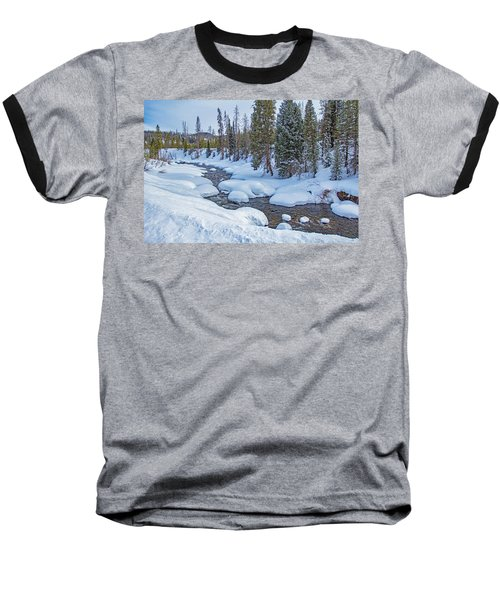 Elk River Baseball T-Shirt by Sean Allen