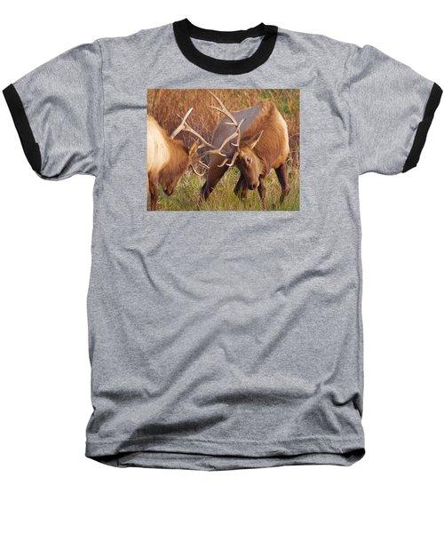 Elk Tussle Baseball T-Shirt