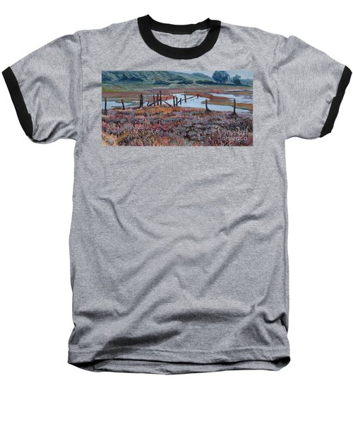 Elkhorn Slough Morning Baseball T-Shirt