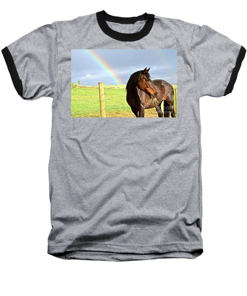 Ella And The Rainbows Baseball T-Shirt