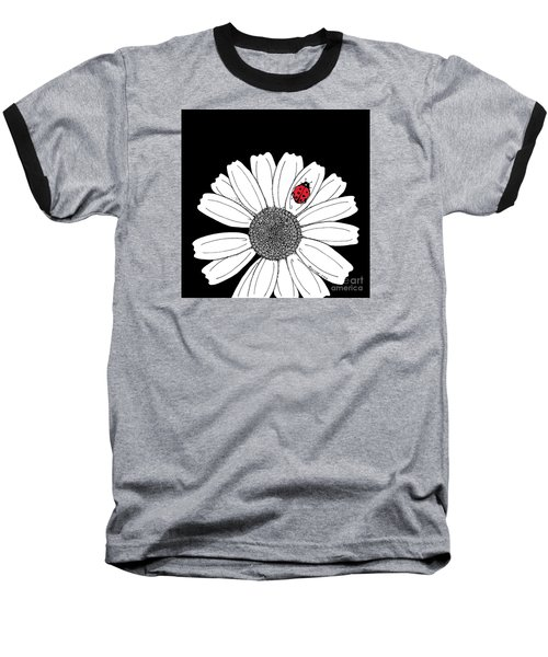Ella's Daisy Baseball T-Shirt