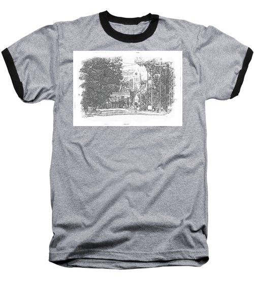 Baseball T-Shirt featuring the photograph Ellaville, Ga - 1 by Jerry Battle