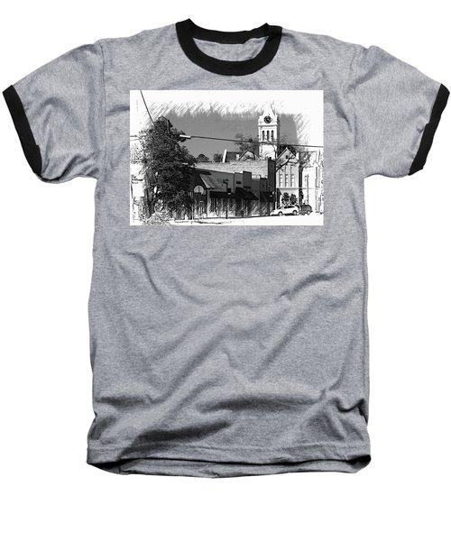 Baseball T-Shirt featuring the photograph Ellaville, Ga - 3 by Jerry Battle