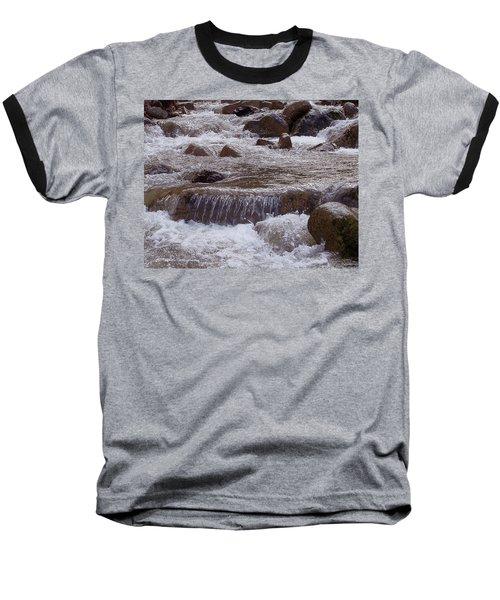 Ellenville Waterfall Baseball T-Shirt