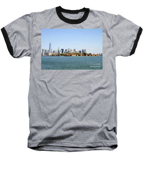 Ellis Island New York City Baseball T-Shirt